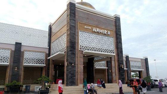 Foto: Masjid Namira, Masjid di Lamongan Yang Jadi Viral