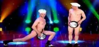 Funny nude dance