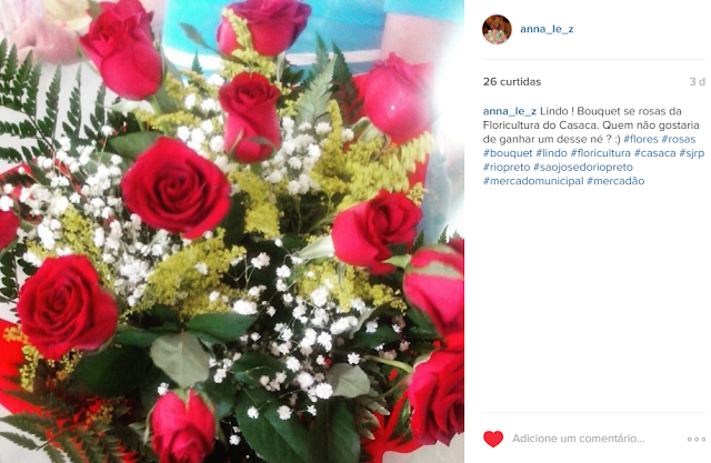 instagram fotos bouquet rosas