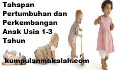 Tahapan Pertumbuhan dan Perkembangan Anak Usia 1-3 Tahun