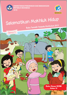 Tema 1 Buku Siswa Kelas 6-VI Kurikulum 2013 Revisi 2018