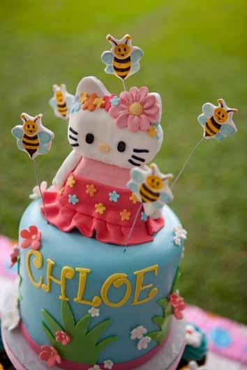 Chloe S Hello Kitty 4th Birthday A Cake Life