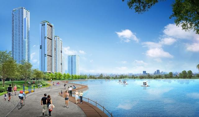 Phối cảnh chung cư HD Mon City – Mỹ Đình