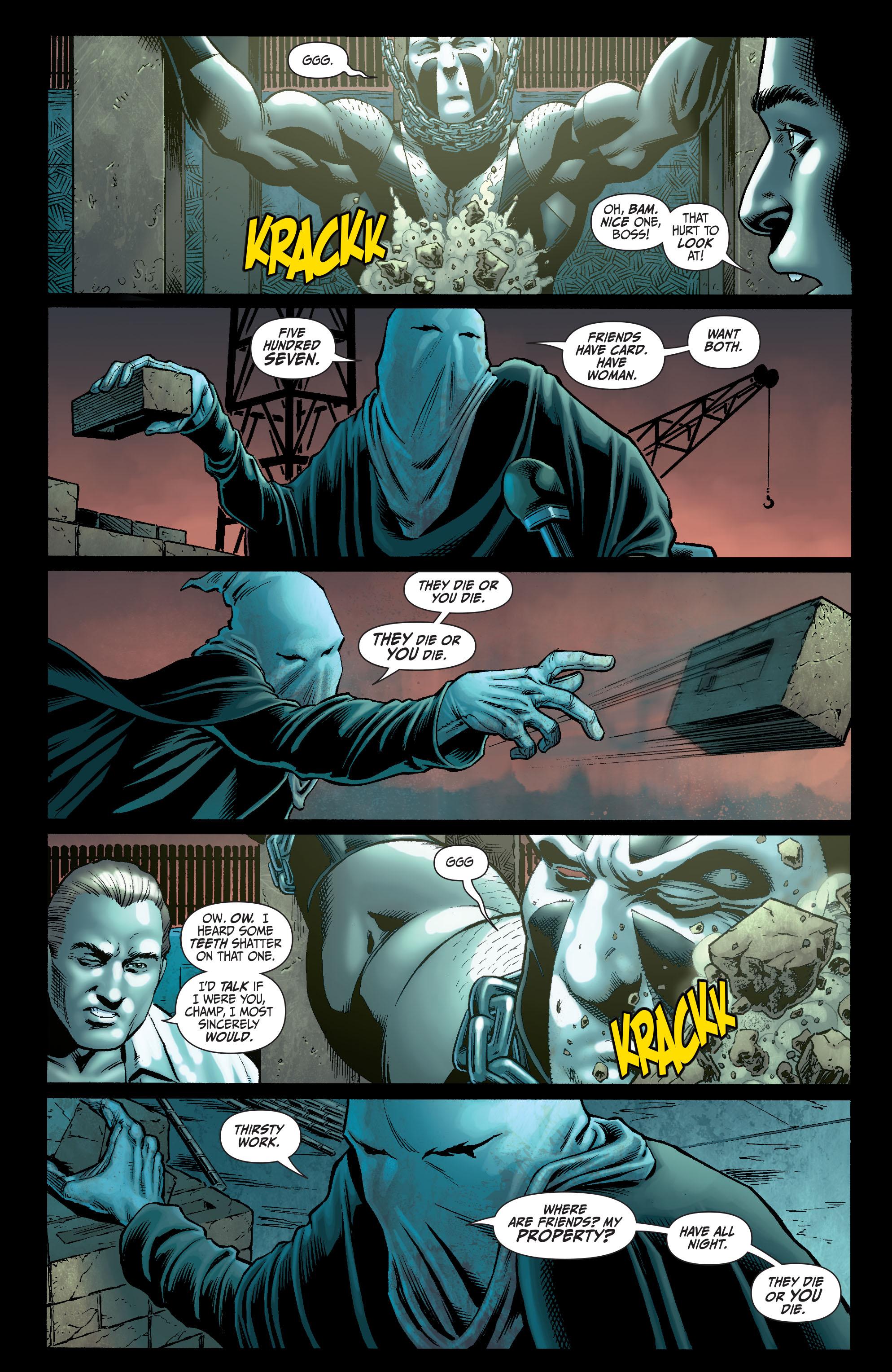 Read online Secret Six (2008) comic -  Issue #5 - 6