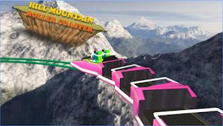 Hill Mountain Roller Coaster Apk v1.2 Mod Unlocked
