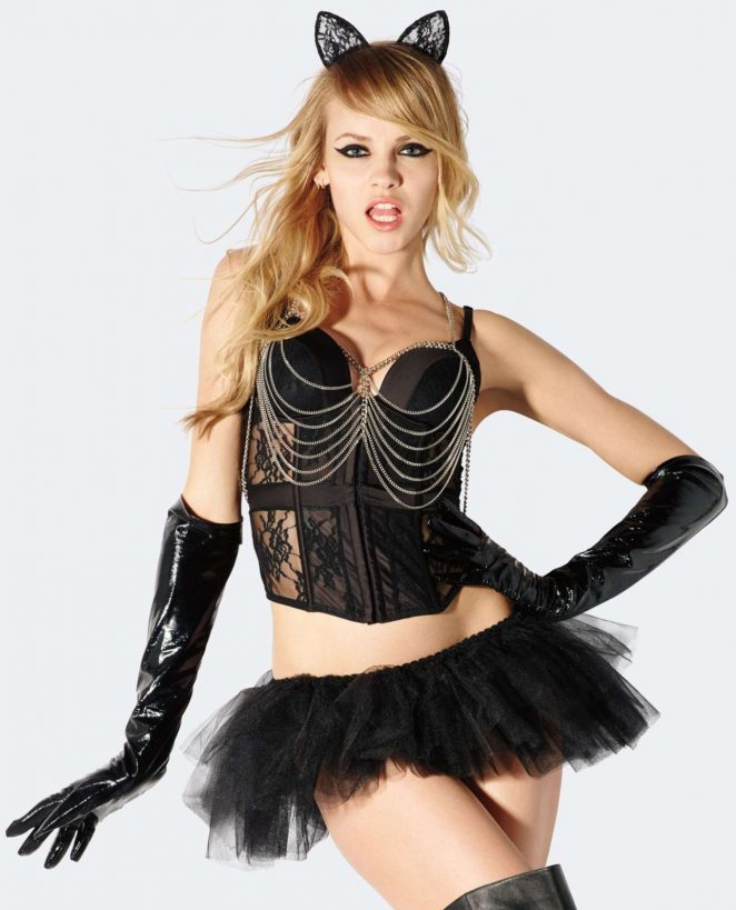 Ginta Lapina – Halloween Costumes for La Senza 2016
