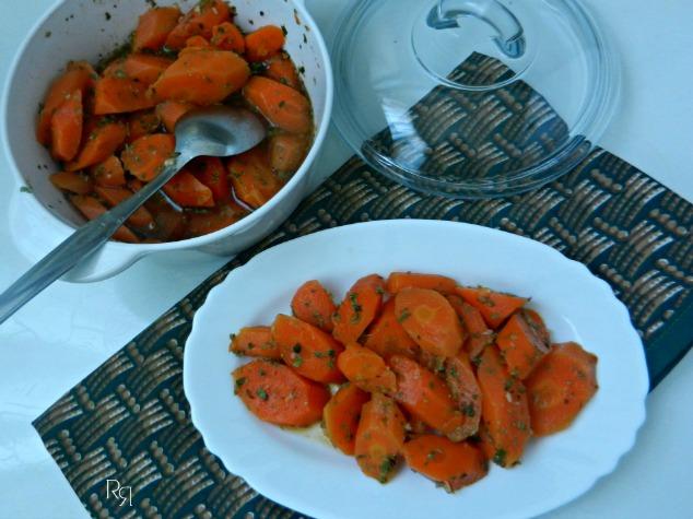 """Zanahorias aliñás"""