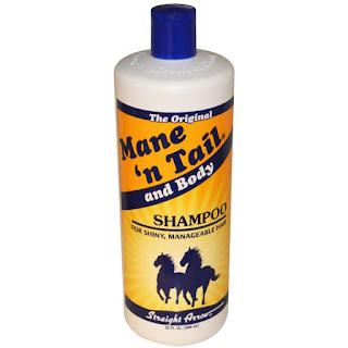 شامبو وبلسم ذيل الحصان لتغذية الشعر Mane 'n Tail, And Body Shampoo, 32 fl oz (946 ml)