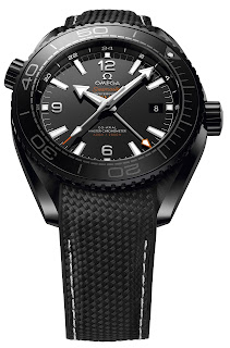 Montre Omega Seamaster Planet Ocean Deep Black GMT