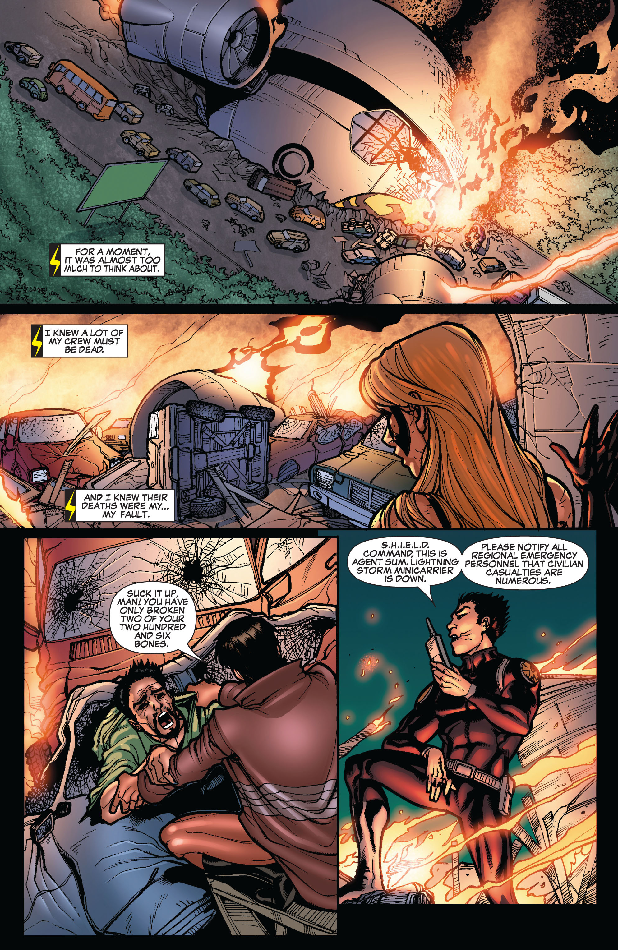 Read online Secret Invasion: The Infiltration comic -  Issue #10 - 16