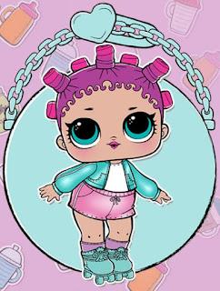 Роллер-леди кукла в шаре L.O.L. Surprise Baby
