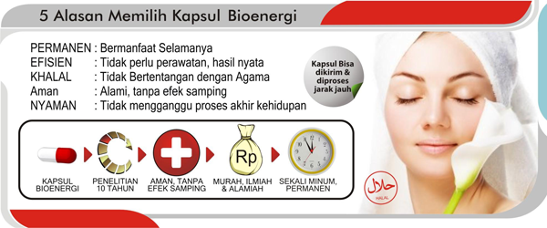 Bioenergicenter: Berbagai Manfaat Kapsul Bioenergi