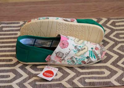 Sepatu Wakai Women Paris Green