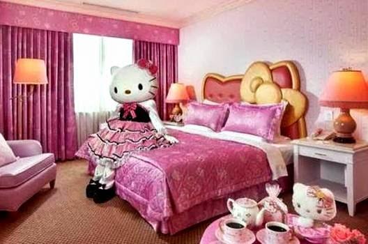 Desain-Kamar-Tidur-Hello-Kitty-Lucu-dan-Cantik
