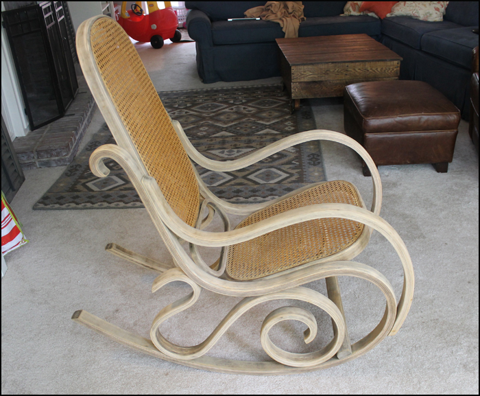 Magnificent Sawdust Designs Bentwood Rocker Comes Back To Life Machost Co Dining Chair Design Ideas Machostcouk