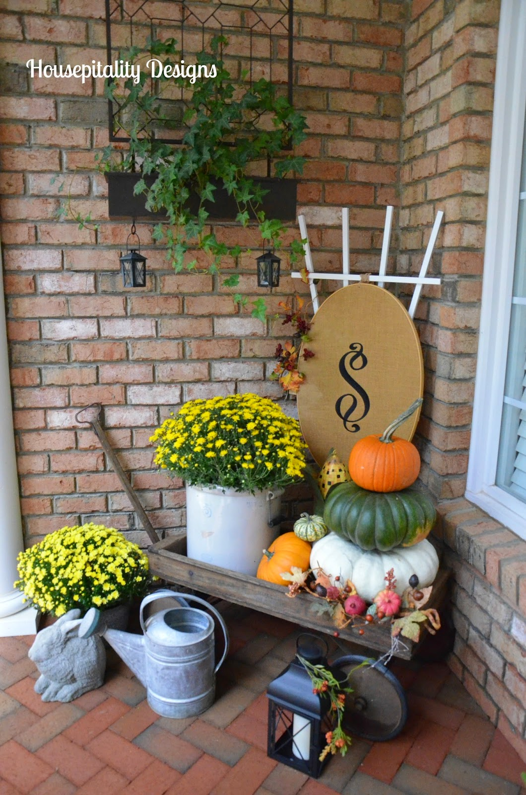 Housepitality Designs: Savvy Southern Style : Fall Porch 2014 And Party