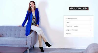 oferta marca Multiples de ropa para mujer