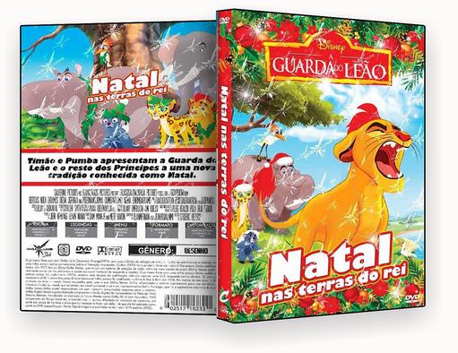 CAPA DVD – A Guarda do Leão Natal nas Terras do Rei – ISO
