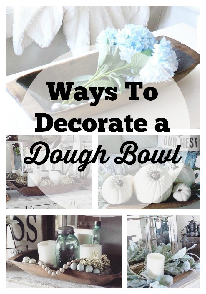 How To Decorate a Dough Bowl   The Glam Farmhouse How To Decorate a Dough Bowl