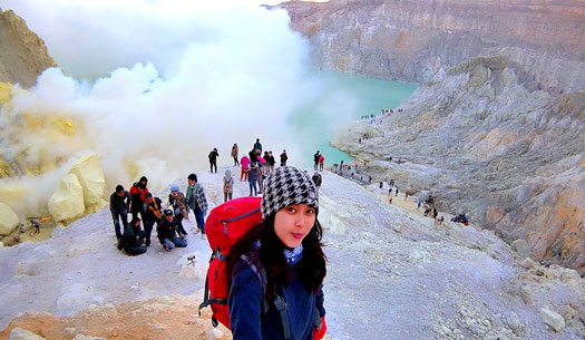 The Ijen Crater