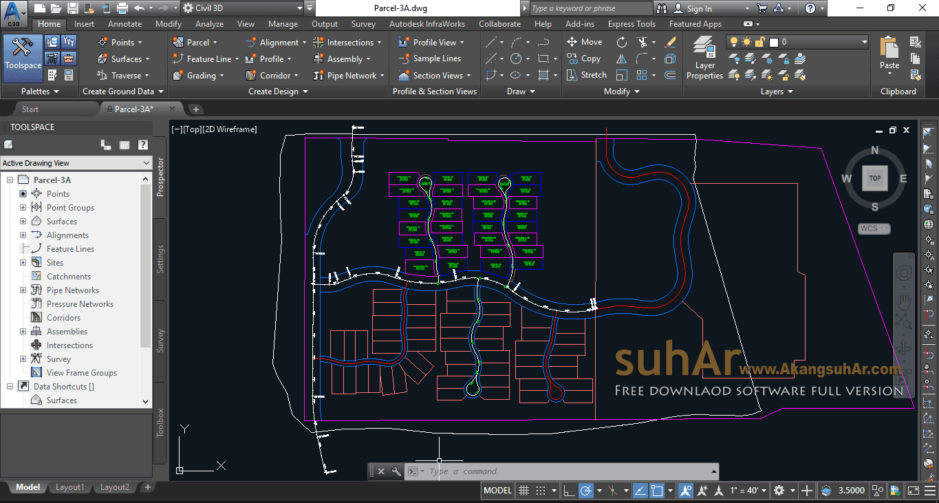 Free Download Autodesk AutoCad Civil 3D 2019 Full Activation Keygen
