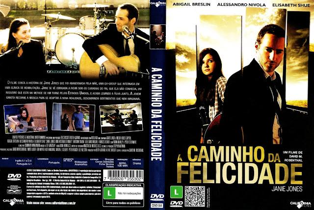 Capa DVD A Caminho da Felicidade