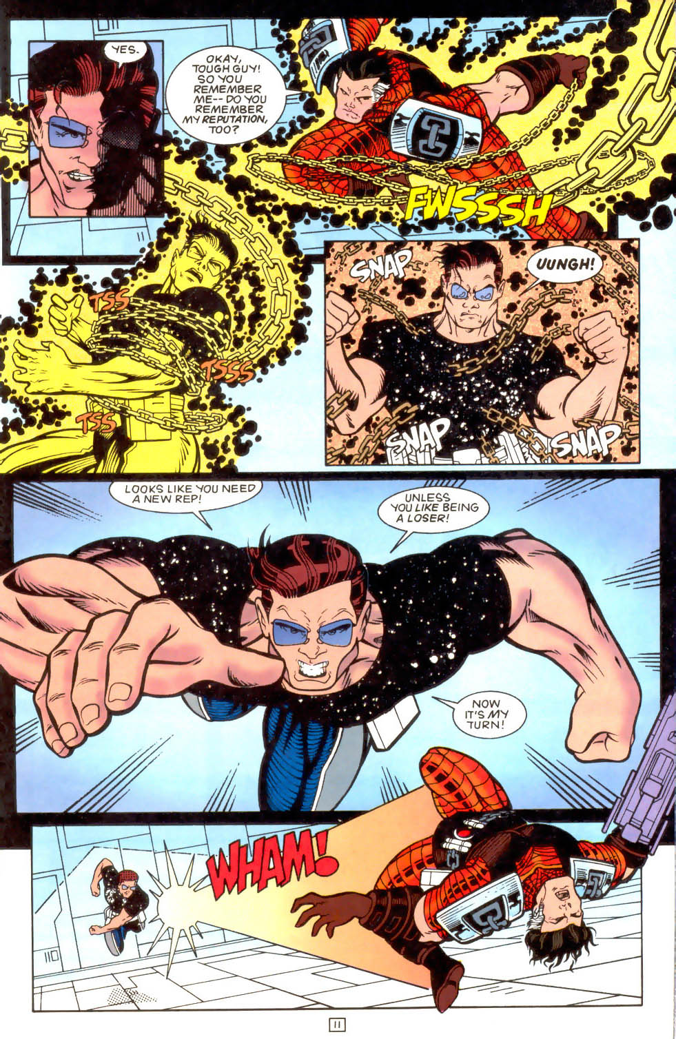 Legion of Super-Heroes (1989) 51 Page 11