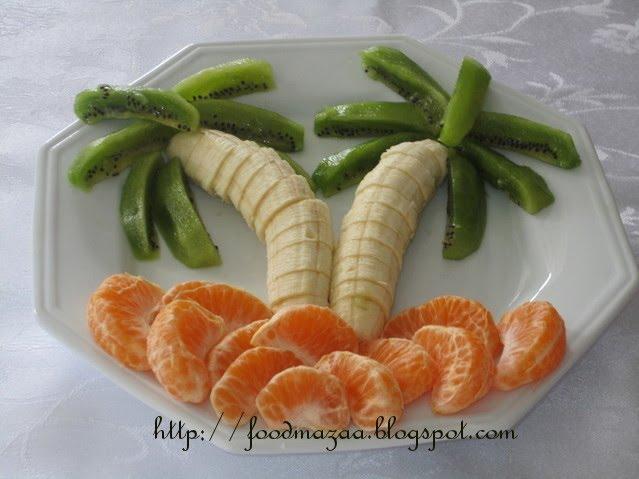 Shobha S Food Mazaa Decorative Fruit Platter