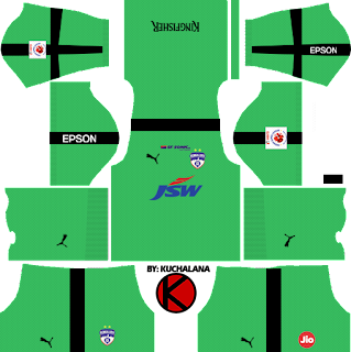 Bengaluru FC 2018 -  Dream League Soccer Kits