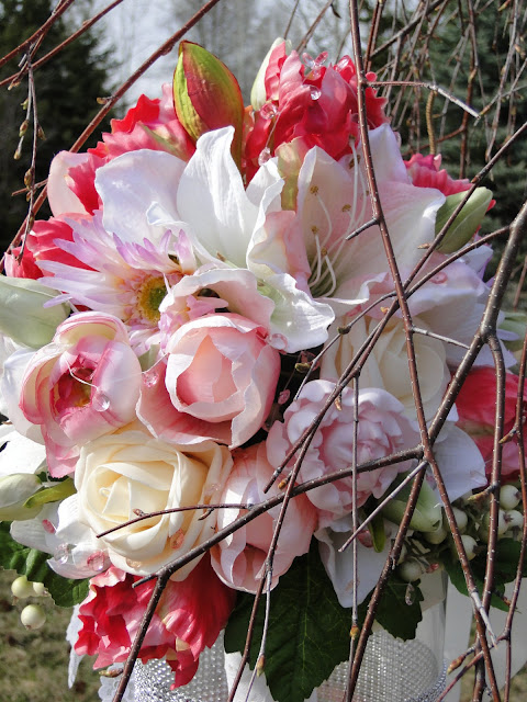 Bridal bouquets at The Camellia