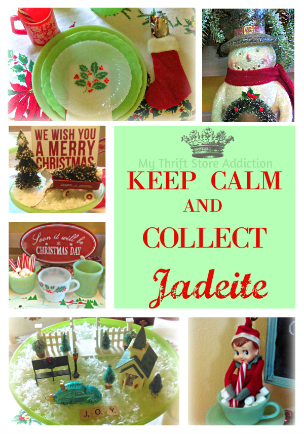 My Thrift Store Addiction jadeite collection