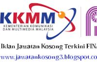Jawatan Kosong Perbadanan Kemajuan Filem Nasional Malaysia (FINAS)  20 SEPTEMBER 2017 (Rabu).