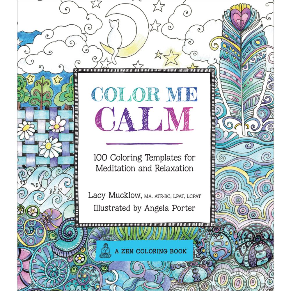 Color Me Calm by Lacy Mucklow and Angela Porter, for sale at Art by Jenny online shop