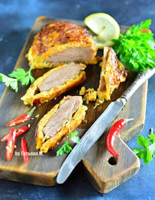 Мясо в шубе рецепт