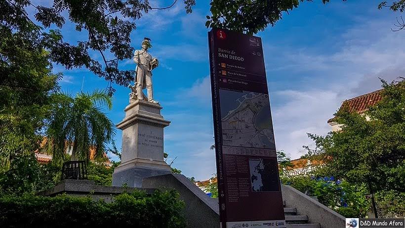 Plaza Fernandez de Madrid - O que fazer em Cartagena, Colômbia