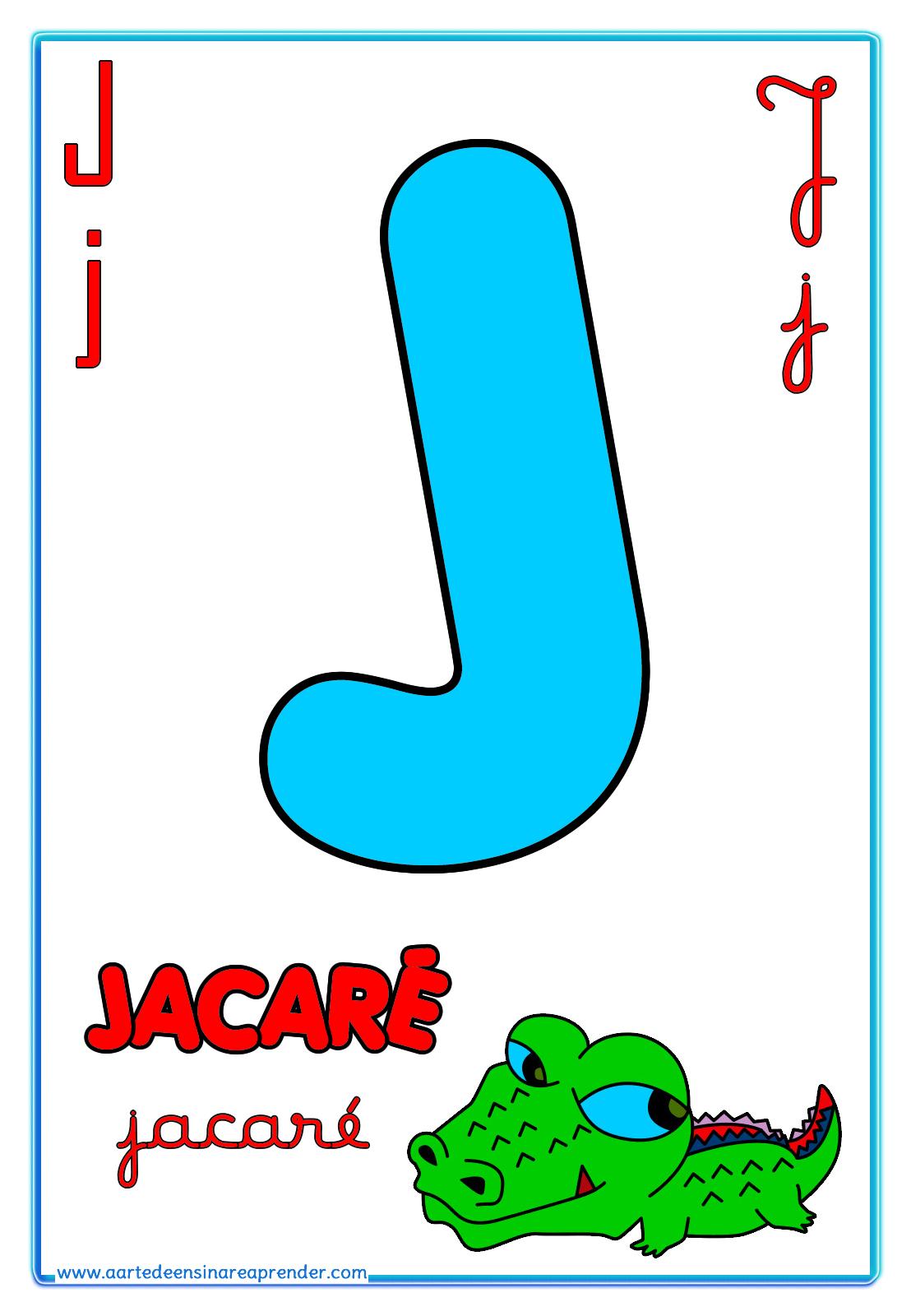 Alfabeto Quatro Tipos De Letras
