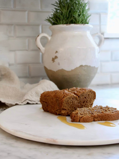 ~gluten free vegan earl grey maple loaf~