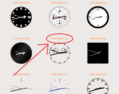 Cara Memasang Widget Jam/Clock Di Blog Keren - Jam Analog/Digital