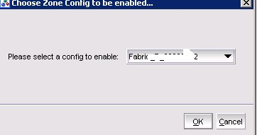 Brocade FC switch configuration Enable
