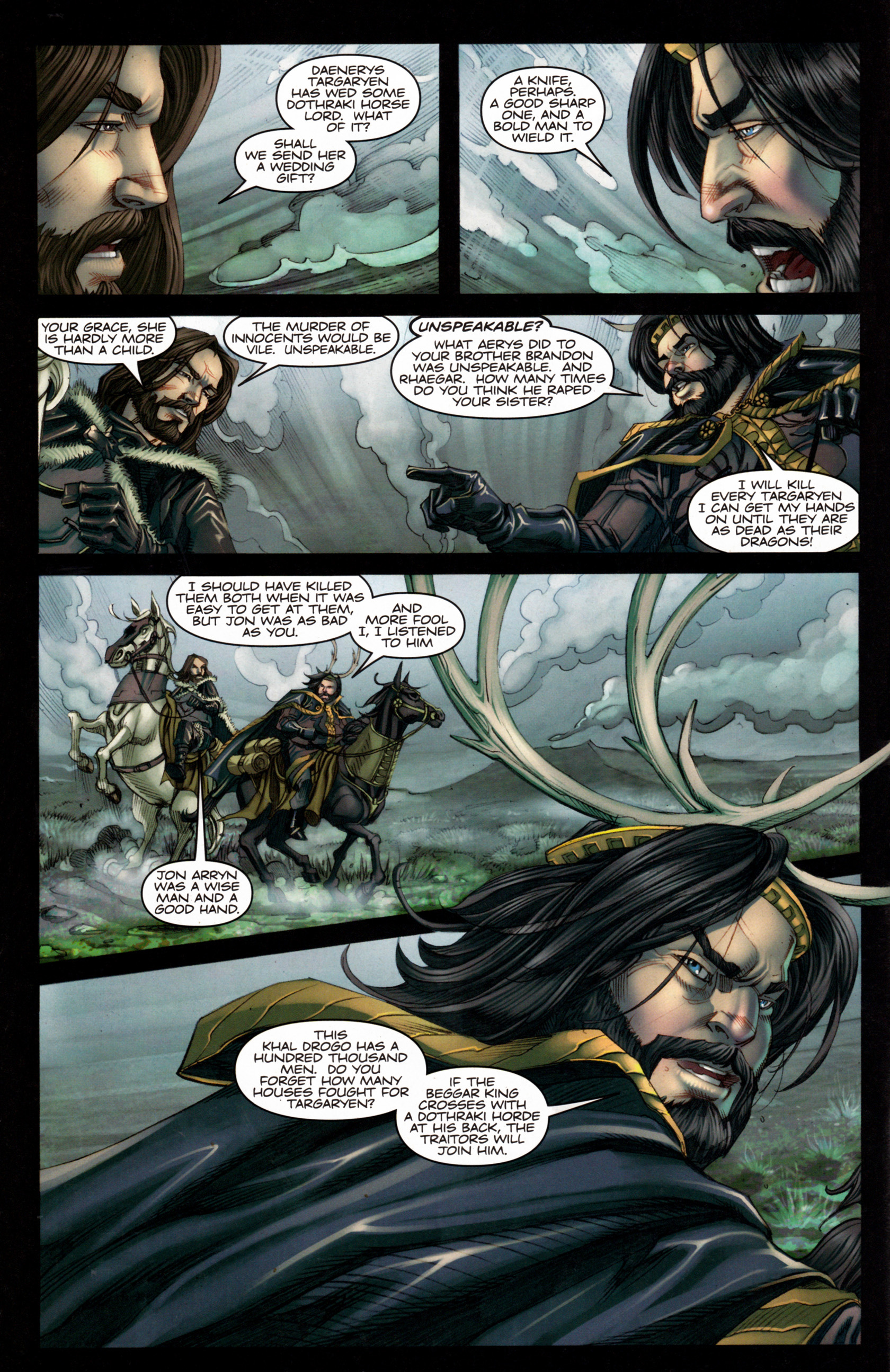 Read online A Game Of Thrones comic -  Issue #4 - 12