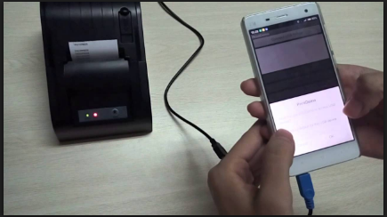 Connect to Printer From Android