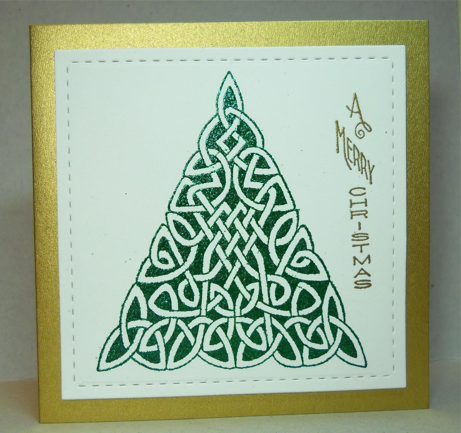 Cardmaker's Garret: Celtic Knot Christmas Tree