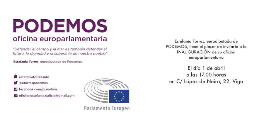 El Cierre de la oficina de Pesca por Estefanía Torres de Izquierda Unida-Podemos en Vigo llega al Defensor del Pueblo de Europa