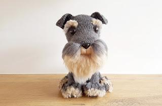Free Amigurumi Dog Patterns : 2000 free amigurumi patterns: schnauzer dog: free amigurumi crochet