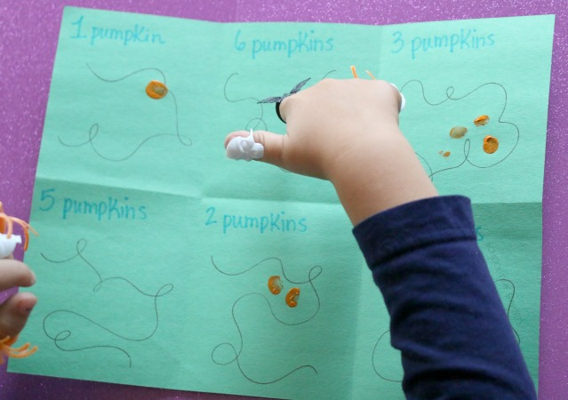 Pumpkin Patch Number Craft