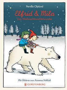 """Das Bücherboot: Weihnachtswichtel in Kinder- und Jugendbüchern (+ Verlosung). Auch ältere Kinder bzw. Jugendliche können noch an Wichtel und den Weihnachtsmann glauben, wie die Hauptfigur in """"Elfrid und Mila"""""""
