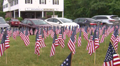 Chelmsford, Mass Tells Business To Remove 'Excessive' American Flags