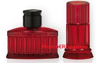 Logo Vinci gratis 42 profumi Roma Passione di Laura Biagiotti