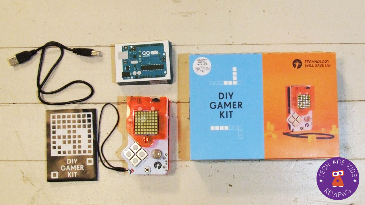 Technology Will Save Us Diy Gamer Kit Review Soldering On From Arduino For Dummies We Got The Soldered With An Contains Various Electronic Components Pcb Board And Acrylic Accessories