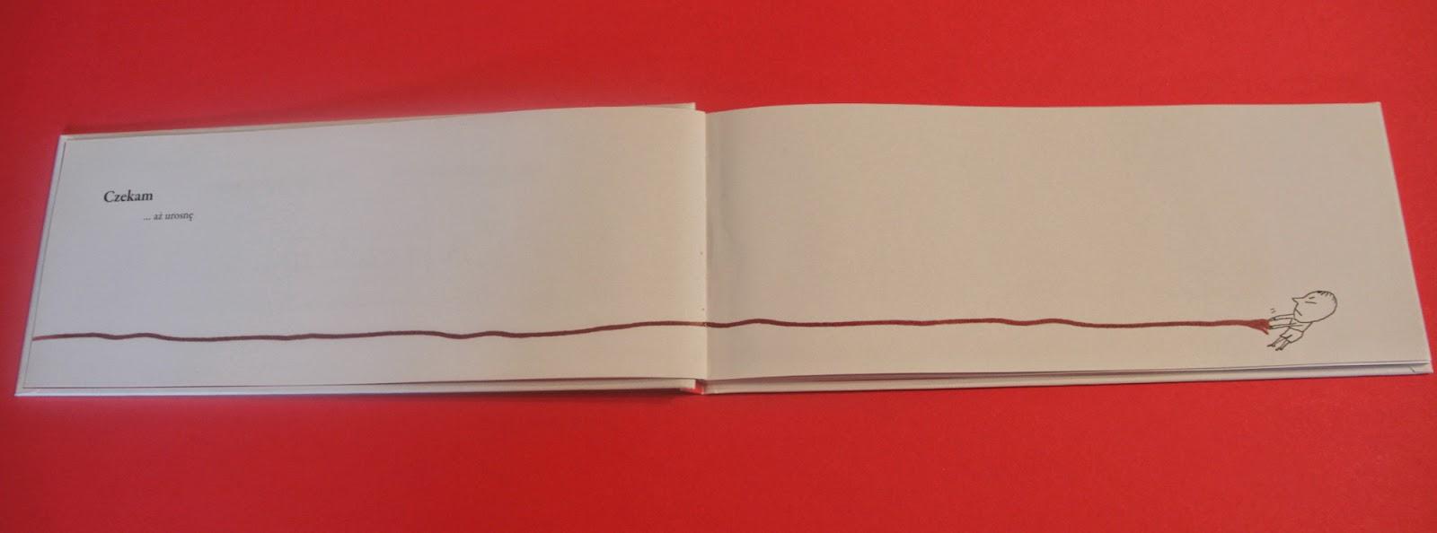 picture book A ja czekam Davide Cali, Serge Bloch